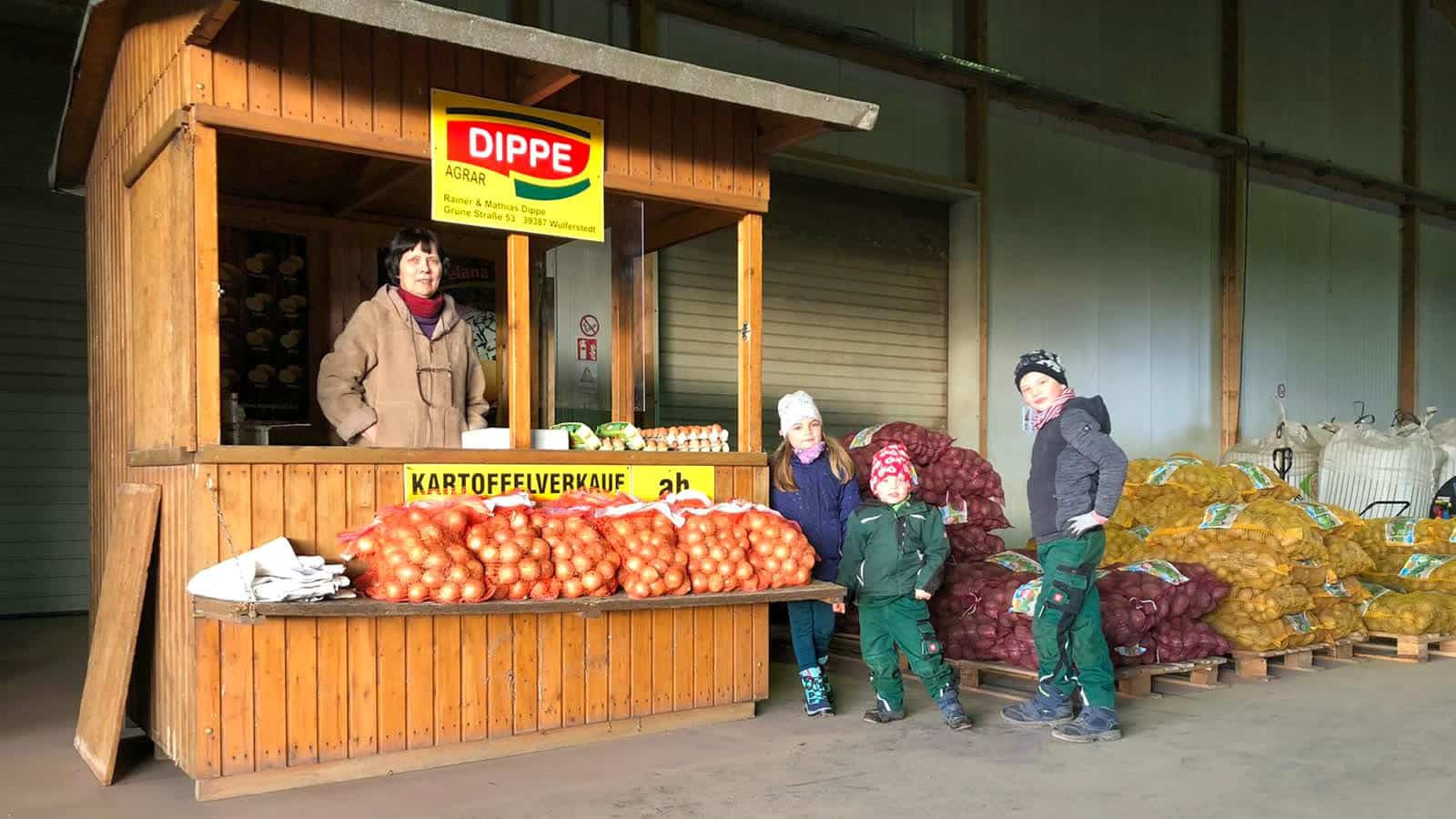 Kartoffel Verkauf